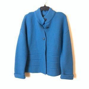 Lafayette 148:  wool cardigan size X Large